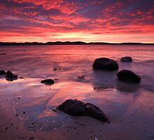 Beach near Flinders Esp, Taroona, Tasmania #2 by Chris Cobern