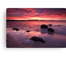 Beach near Flinders Esp, Taroona, Tasmania #2 Canvas Print
