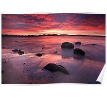Beach near Flinders Esp, Taroona, Tasmania #2 Poster
