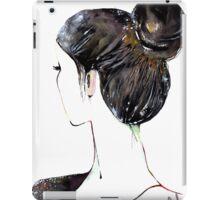 Chignon mignon iPad Case/Skin