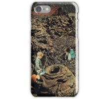 Looking for the lost toys, Vintage Collage iPhone Case/Skin