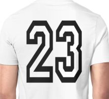 23, TEAM SPORTS, NUMBER 23, TWENTY THREE, two, three, Competition,  Unisex T-Shirt