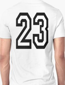 23, TEAM SPORTS, NUMBER 23, TWENTY, THREE, Competition,  Unisex T-Shirt