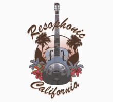 Resophonic  California (brown) by DocMiguel