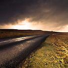 A Road Through the Cumbrian Moors by Simon Harrison