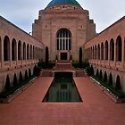 Canberra War Memorial, Reflection Pool by Jaxybelle
