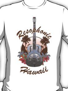 Resophonic Hawaii (brown) T-Shirt