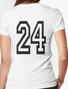 24, TEAM SPORTS, NUMBER 24, TWENTY, FOUR, Competition,  T-Shirt