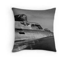 Top Turret Throw Pillow
