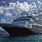 ms VEENDAM off of Bermuda by Timothy Gass