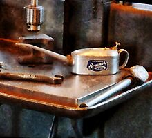 Oil Can and Wrench by Susan Savad