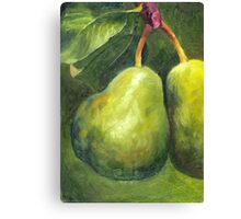 Go Green. Original Oil Painting by Cuban artist Magaly Canvas Print