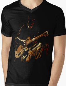 Guitarist Mens V-Neck T-Shirt