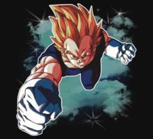 Super Saiyan Vegeta by MissCake