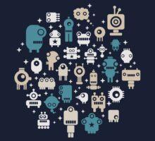 Robots. Kids Tee