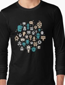 Robots. Long Sleeve T-Shirt