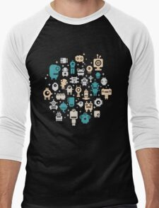 Robots. Men's Baseball ¾ T-Shirt
