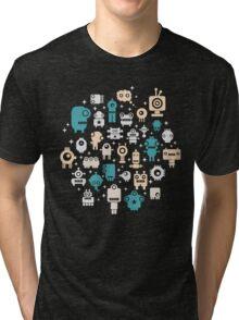 Robots. Tri-blend T-Shirt