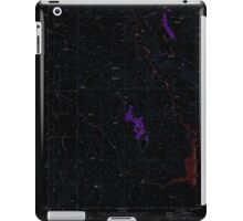USGS Topo Map Oregon Upton Mountain 281945 1973 24000 Inverted iPad Case/Skin