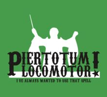 Piertotum Locomotor - I've Always Wanted To Use That Spell Baby Tee
