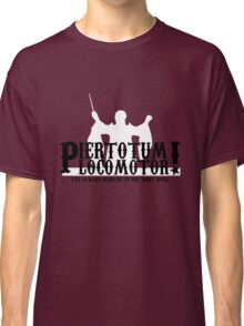 Piertotum Locomotor - I've Always Wanted To Use That Spell Classic T-Shirt
