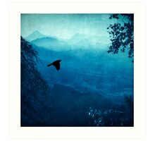 Blue Mountain Haze Art Print
