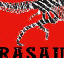 Zebrasaurus Sticker