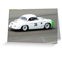 Porsche Speedster Greeting Card
