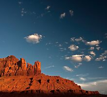 Navajo Sandstone in the Evening Light by Brian Healy Photography