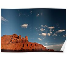 Navajo Sandstone in the Evening Light Poster