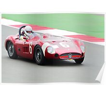 Maserati 300S Poster