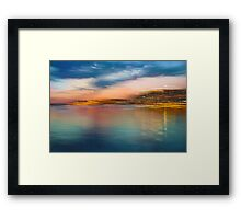 Landscape Motion Photo Painting Framed Print