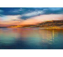 Landscape Motion Photo Painting Photographic Print