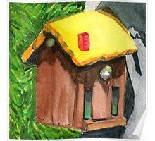 Tallac Birdhouse 4 Poster