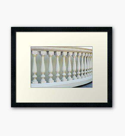 Marching Columns Framed Print
