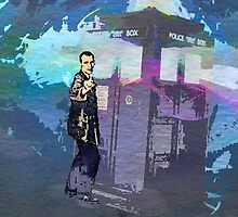 Doctor WHO - Christopher Eccleston by Presumably