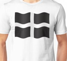 Kernow (Cornwall) flag Unisex T-Shirt