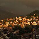 Tropical summer - sunset in the tropical paradise - Verano tropical - Puesta del sol en el paraiso tropical by Bernhard Matejka