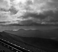 View from Mt Snowdon, Wales  by Jonathan Marsh