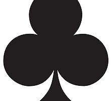 ACE, Black, Ace of Clubs, CLUB, Cards, Game, Suit, gangs, Gamble by TOM HILL - Designer