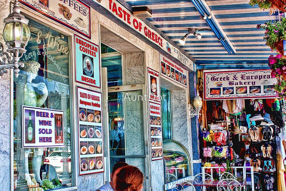 """TASTE OF GREECE""  Tarpon Springs, Florida by AuntDot"