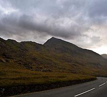 Mount Snowdon - Looking back at sunset by Jonathan Marsh
