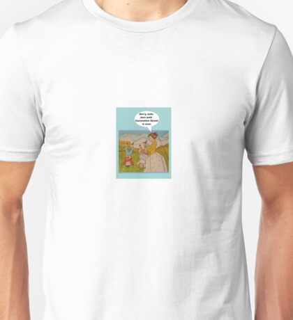"""Anti-""""Helicopter Parenting"""" to watch Coronation Street Unisex T-Shirt"""