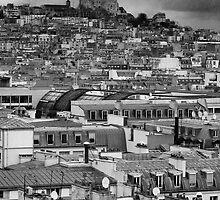 Parisian Rooftop by VisivoMedia