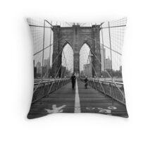 NYC: Brooklyn Bridge Throw Pillow