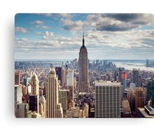 NYC: Empire Canvas Print