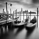 Venice: Gondolas by Nina Papiorek