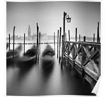 Venice: Gondolas II Poster