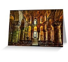 St John's Chapel, London Greeting Card