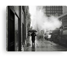 NYC: Umbrella Metal Print